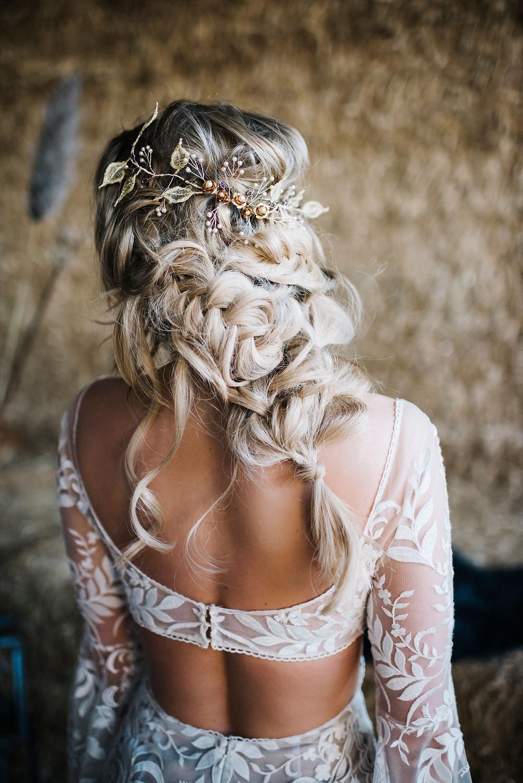 Boho Bridal Wedding Braid Hair Vine wedding hair accessories cheshire