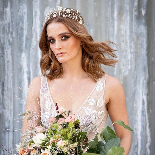 Aurora || Floral Wedding Crown