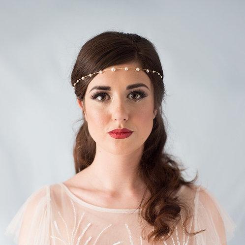 Talia Simple Pearl Hair Vine
