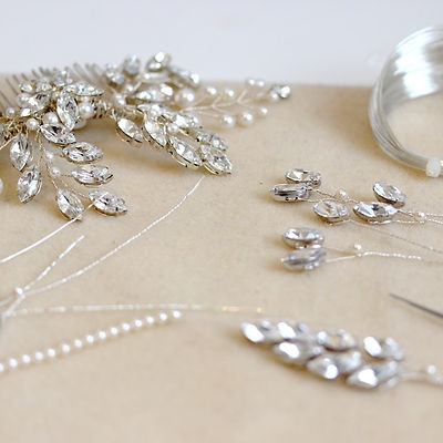 Wedding Accessory Design Glorious by Heidi Cheshire UK