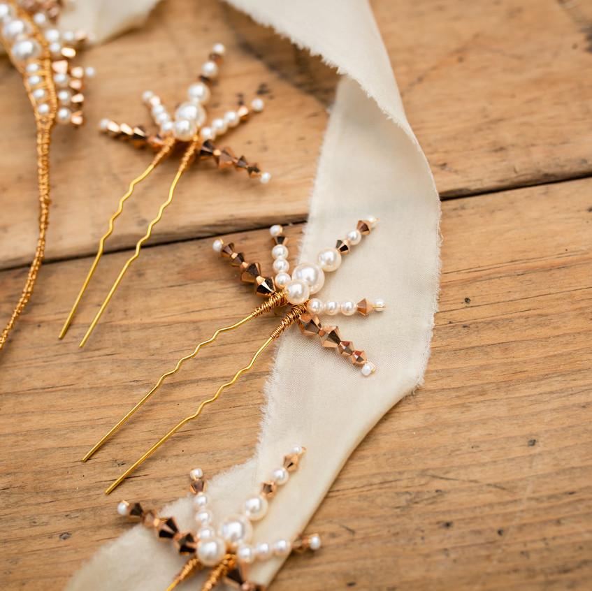 Art Deco Wedding Hair pins