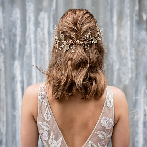 Orla || 'Golden Princess' Bridal Halo