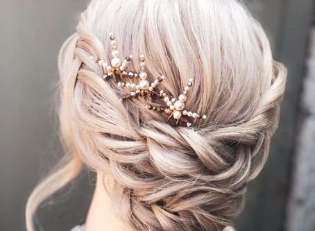 Wedding day hairstyle inspiration from Wildflower Hair Company, Cheshire, UK