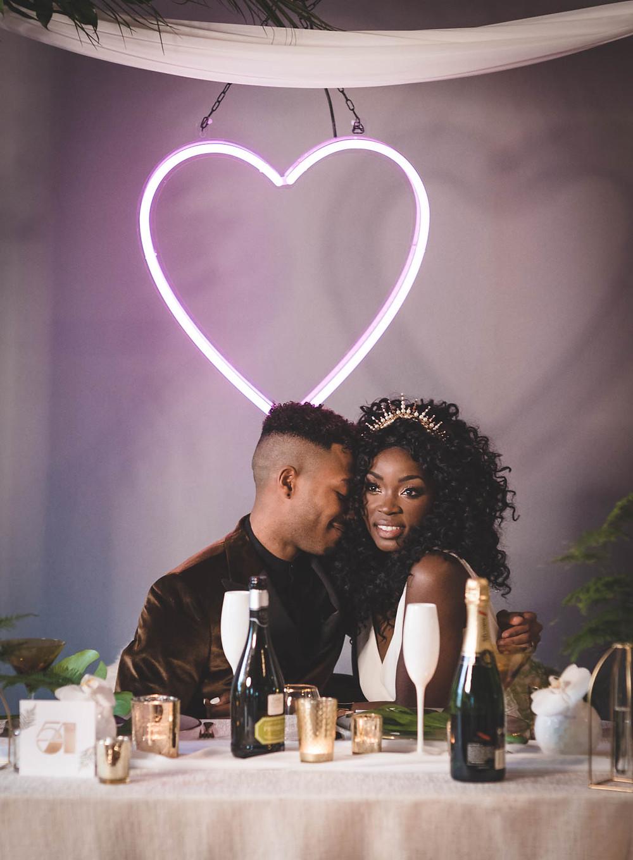 Wedding Neon Love Heart Light