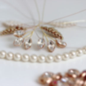 Handcrafted bridal hair accessories Cheshire UK