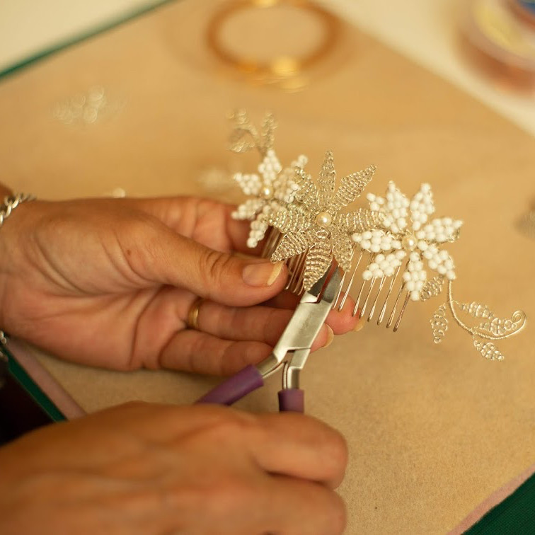 Handcrafted Bridal Accessory