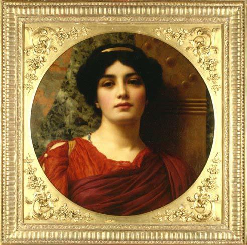 Sappho by John William Godward