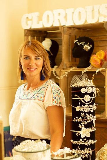 Heidi Reid Award Winning UK Wedding Accessory Designer