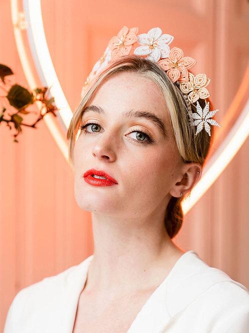 KAZIA || Modern bohemian bridal crown