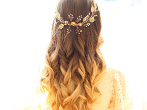 Top tips for Glorious wedding day hair