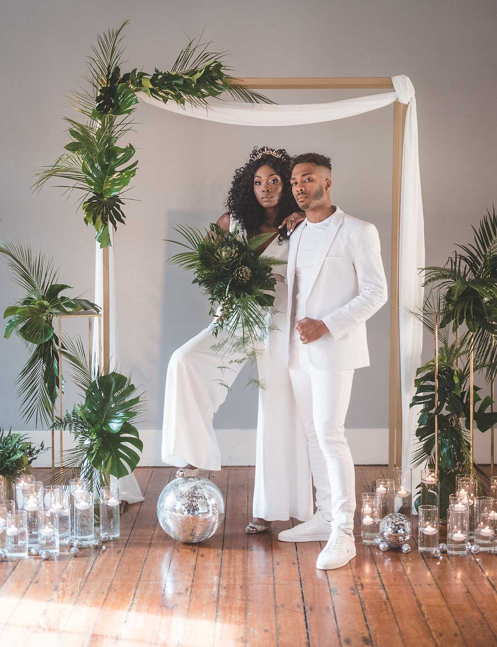 City Chic Super Cool Wedding Style