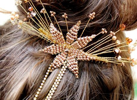 A stellar statement hair accessory