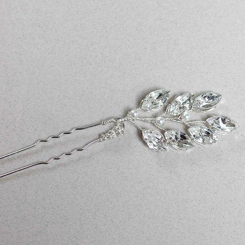 Crystal Bridal Hair Pin Cheshire