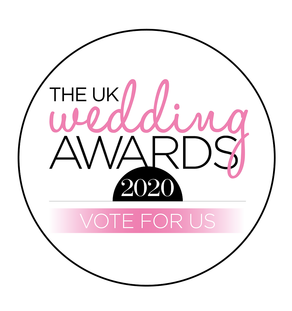 UK Wedding Awards Vote Glorious by Heidi