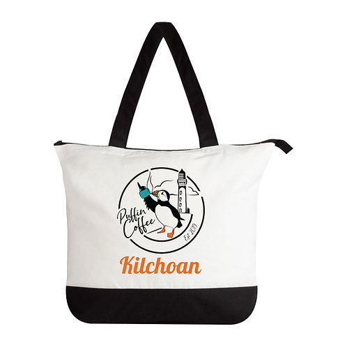 Puffin Coffee Holdall Bag