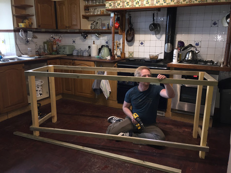 Constructing the worktops