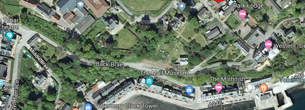 Corry cottage location.png