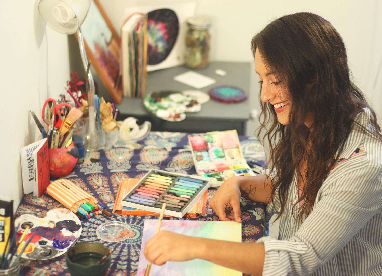 Art Therapist Taylor Beardsall