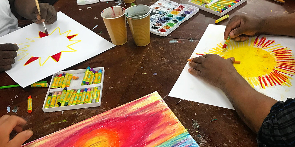 Hybrid Open Studio Art Therapy (in-person + Online)