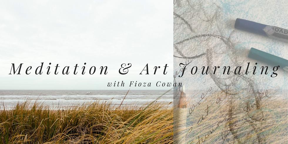 Meditation + Art Journaling