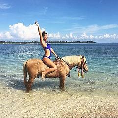 Horse riding in Gili Air
