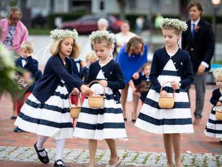 Flower Girls and Sisterly Love