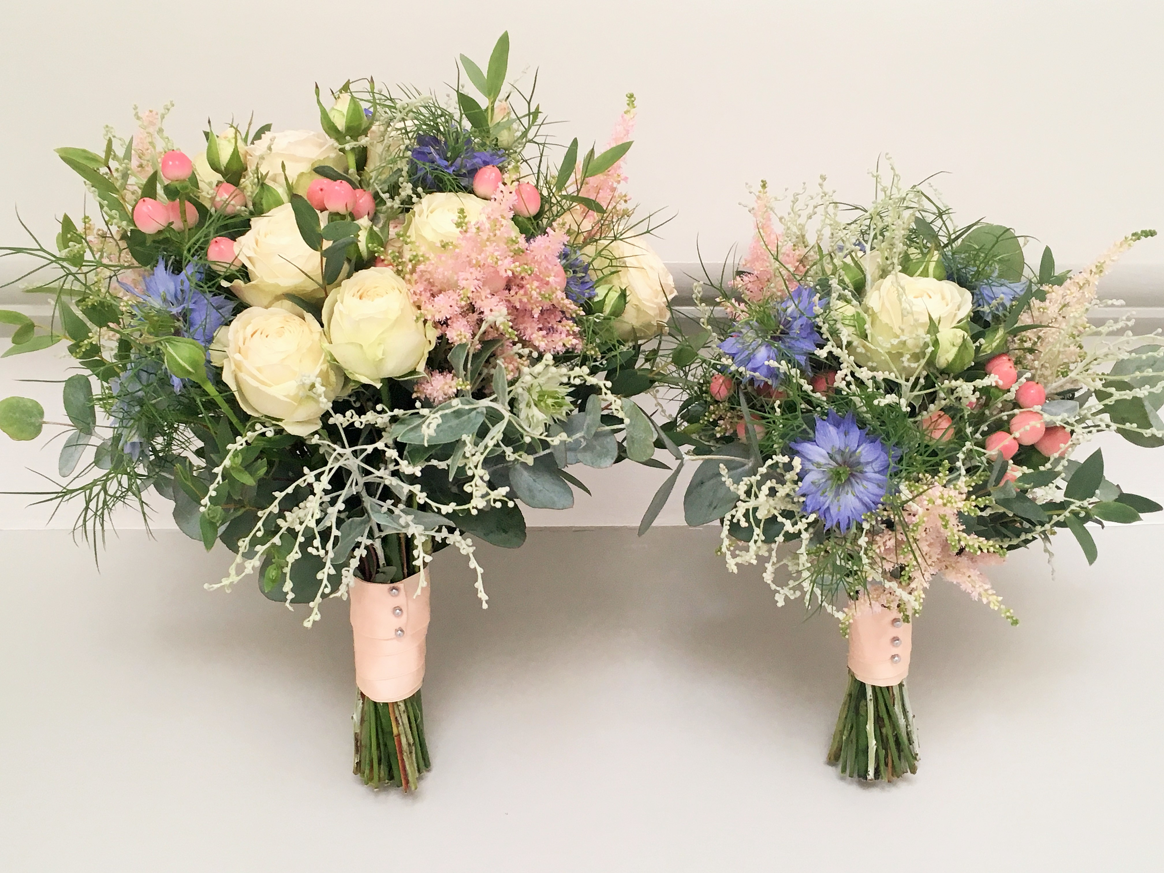 Handtied bridesmaids Bouquets