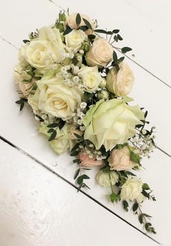 Wired, Teardrop Bridal Bouquet