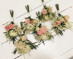 Handtied Bridesmaid Posies