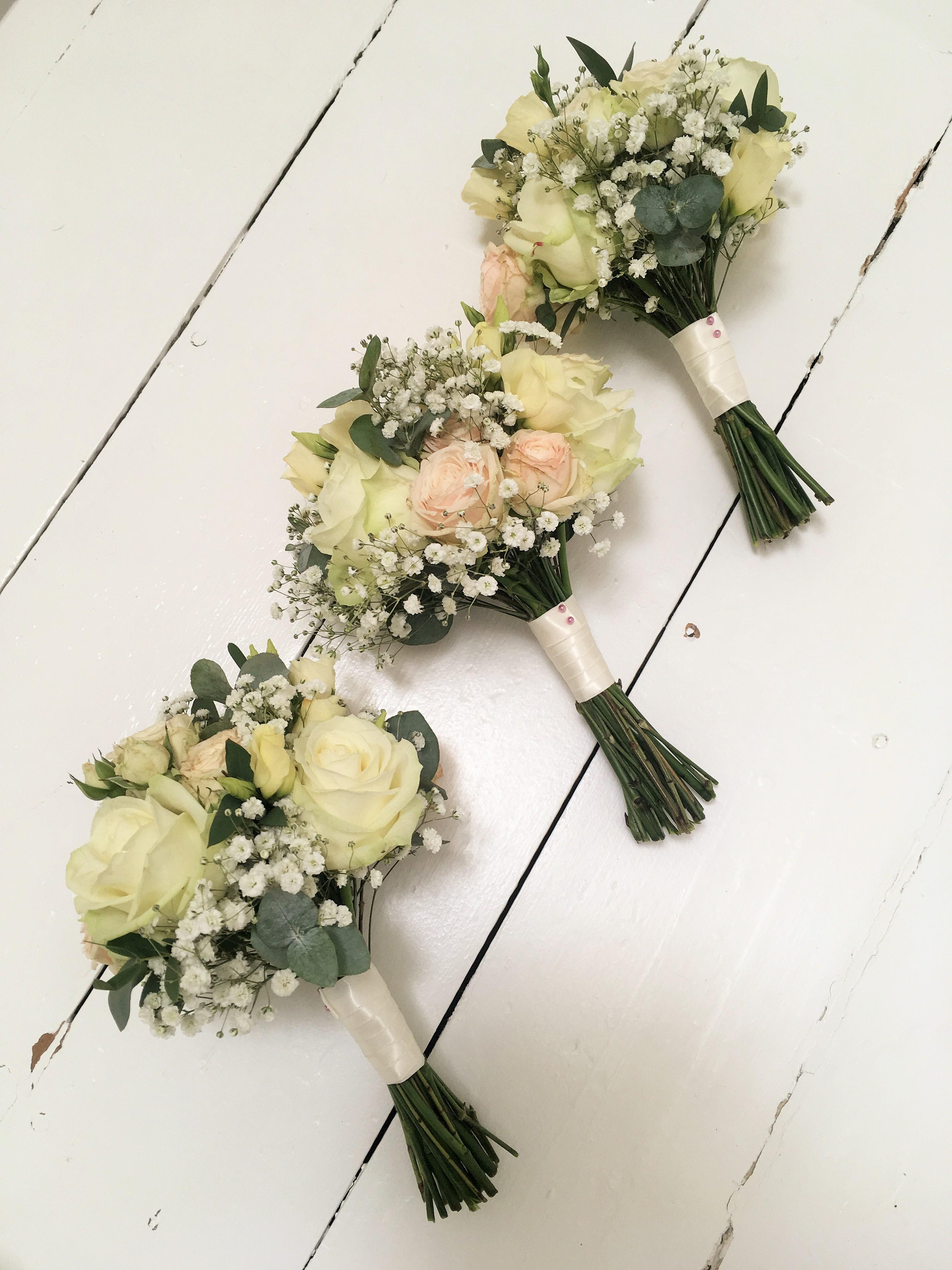 Handtied Bridesmaid Bouquets