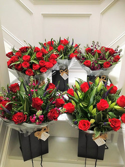 Red Rose Bouquets from £45