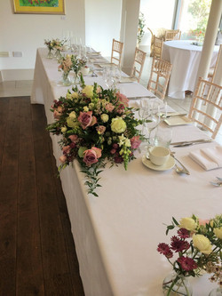 Large Top Table Arrangement