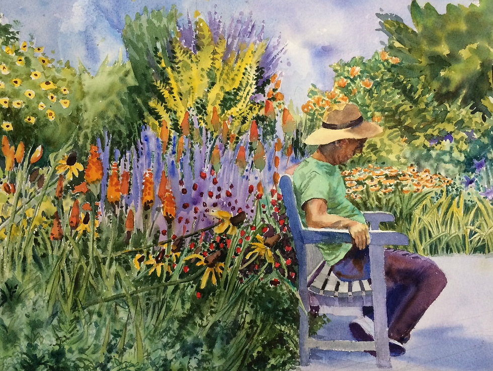 Brooklyn Botanic Garden Nap
