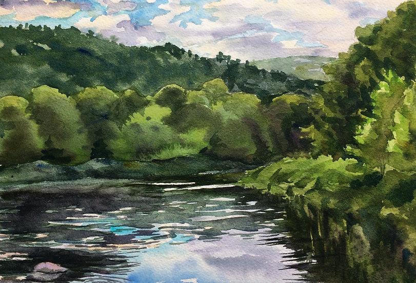 Buckingham the Delaware Painting