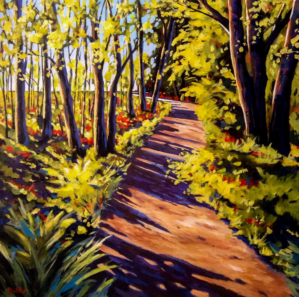 Path to Ness Lake