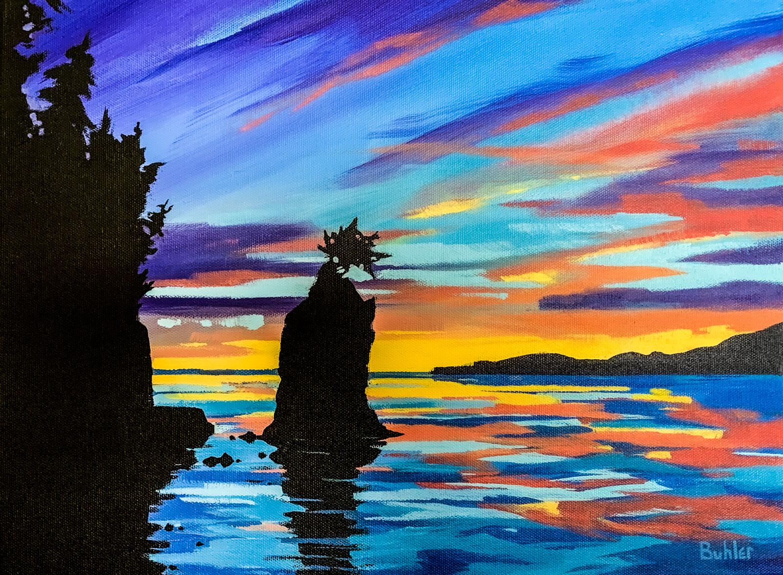 Siwash Rock Vancouver