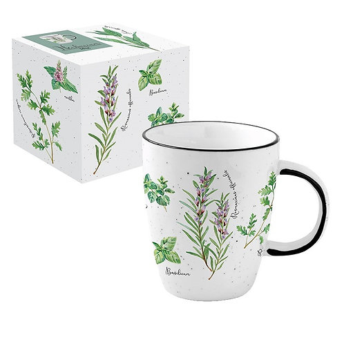 Herbarium mug en porcelaine