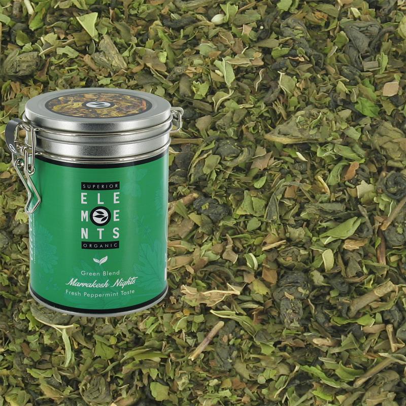 Thé vert à la menthe Marrakesh Nights Bio Alveus