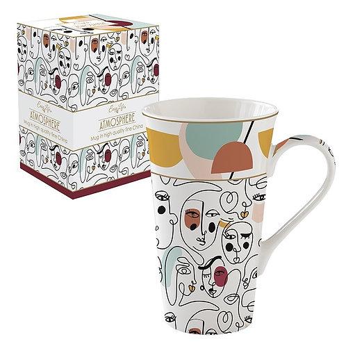 Modernism mug géant en porcelaine