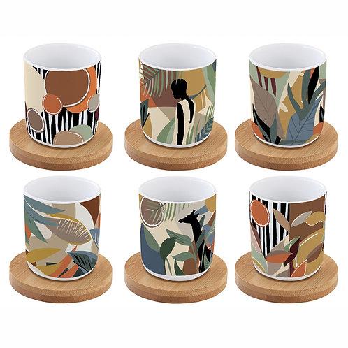 Kilimandjaro -  set 6 tasses à café