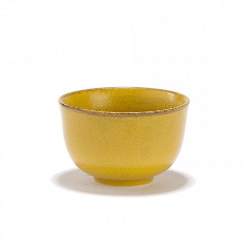 Kiiro - Bol à thé jaune en porcelaine