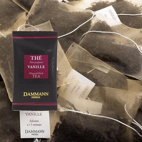 Thé noir Vanille 24 sachets suremballés