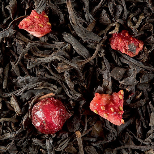 Thé noir Quatre Fruits Rouges