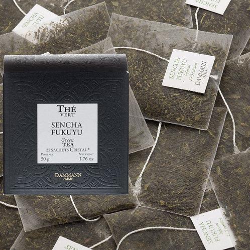 Thé vert Sencha Fukuyu boîte 25 sachets