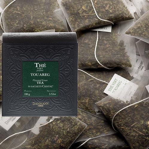 Thé vert à la menthe Touareg boîte 50 sachets