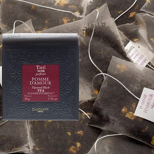 Thé noir Pomme d'Amour boîte 25 sachets