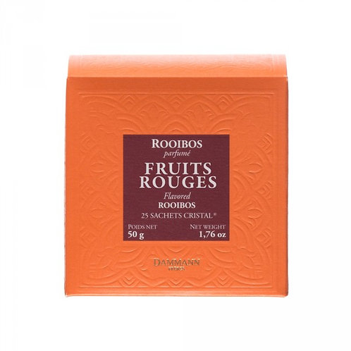 Rooibos Fruits Rouges boîte 25 sachets