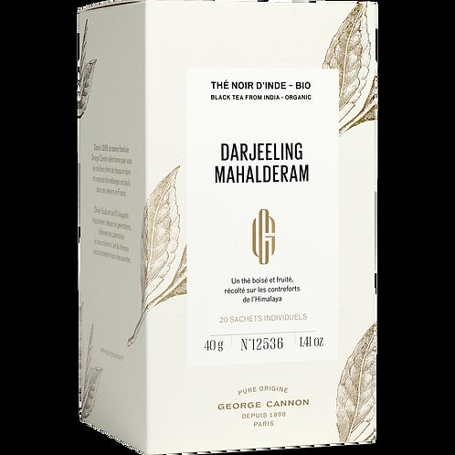Darjeeling Mahalderam Bio Boîte 20 sachets