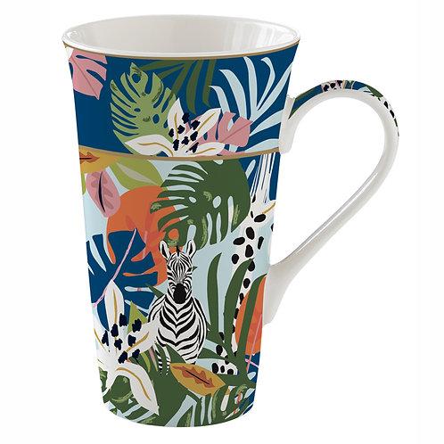 Tropical Vibes mug géant en porcelaine
