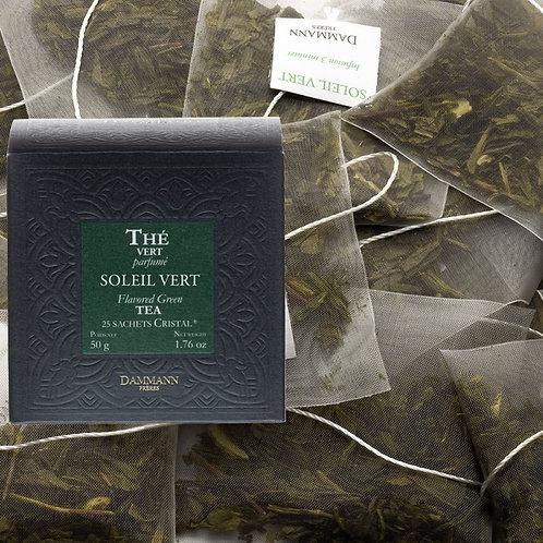 Thé vert Soleil Vert boîte 25 sachets